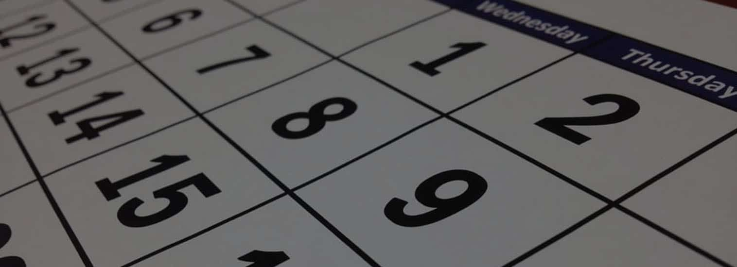 Commit to a Bookkeeping Calendar
